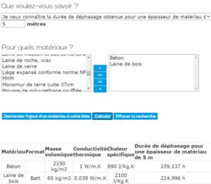 Calcil_dephasage_thermique_materiaux
